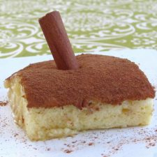 "Sericaia ""Portuguese sweet"" on a plate"