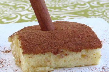 "Sericaia ""Portuguese sweet"" on a plate"