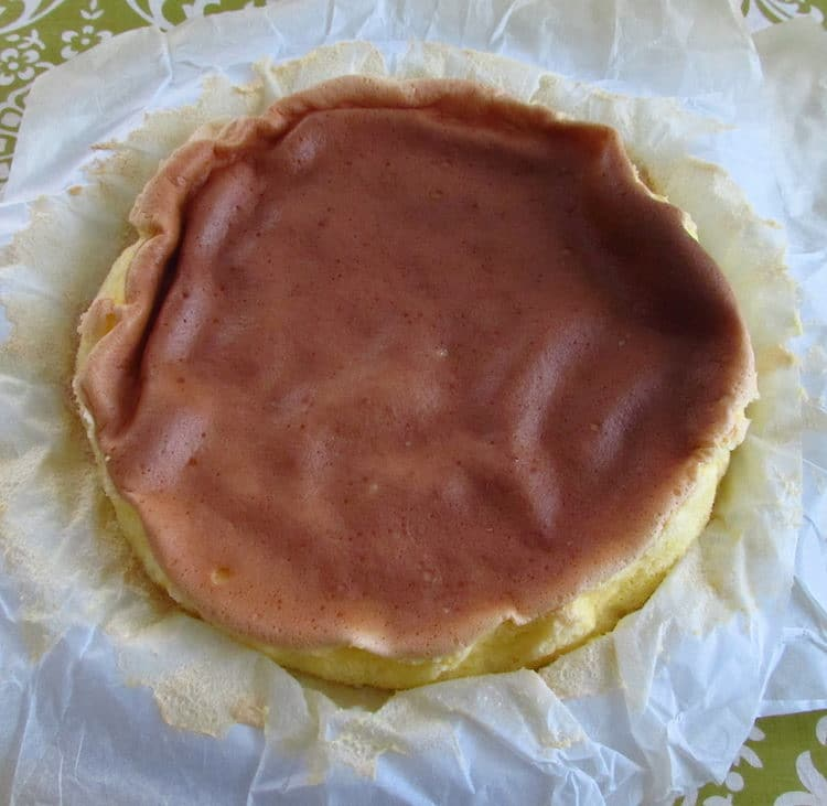 Portuguese sponge cake