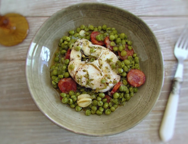 Peas with hake | Food From Portugal