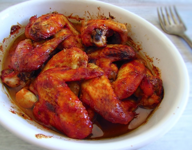 Asas de frango no forno | Food From Portugal