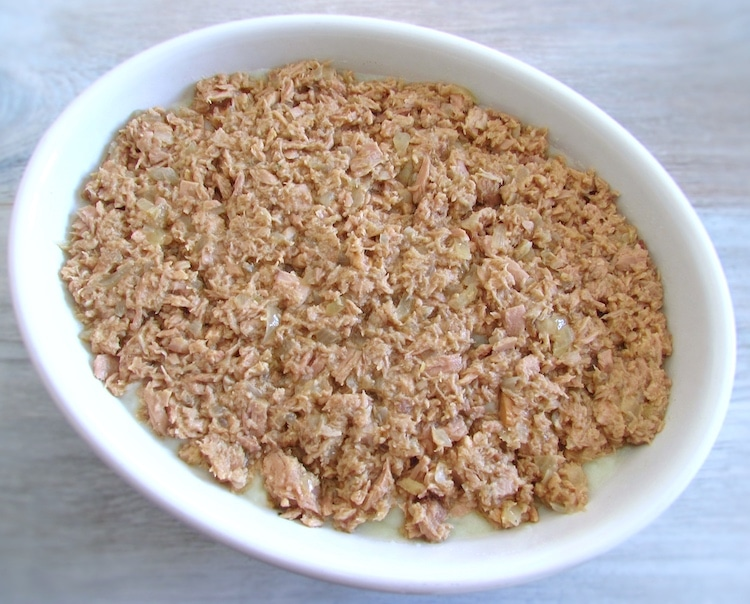 Tuna with puree in the oven | Food From Portugal