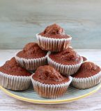 Banana and chocolate muffins