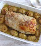 Lombo de porco no forno com alecrim e mel