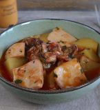 Cuttlefish stew with potatoes