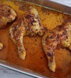 Coxas de frango no forno com especiarias
