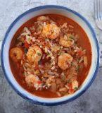 Simple shrimp rice